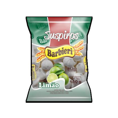 Suspiro BARBIERI Limão 150g