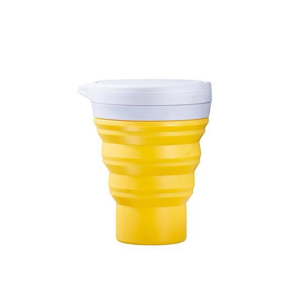 Copo amarelo - Menos 1 Lixo