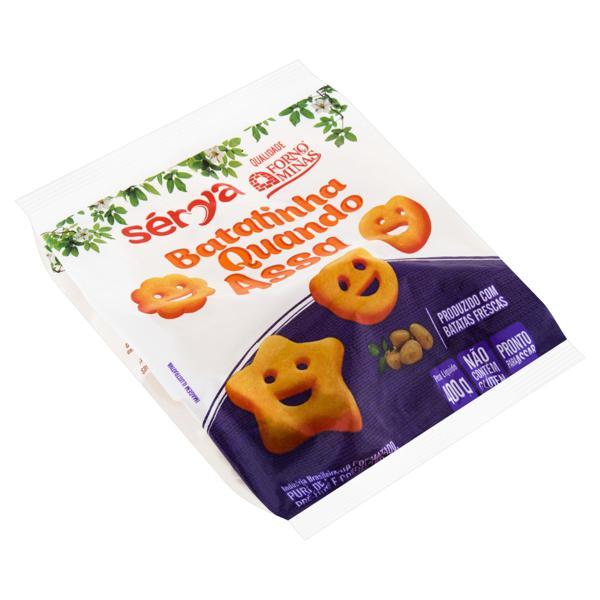 Batata Pré-Frita Congelada Batatinha Quando Assa Sérya Pacote 400g