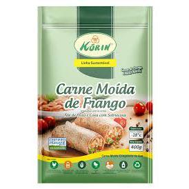 Carne moída de frango 400g - Korin