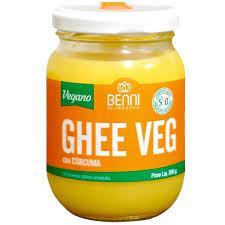 Manteiga Ghee Vegana com Cúrcuma 200g - Benni