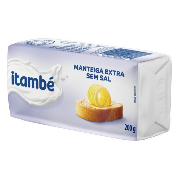 Manteiga Extra sem Sal Itambé 200g