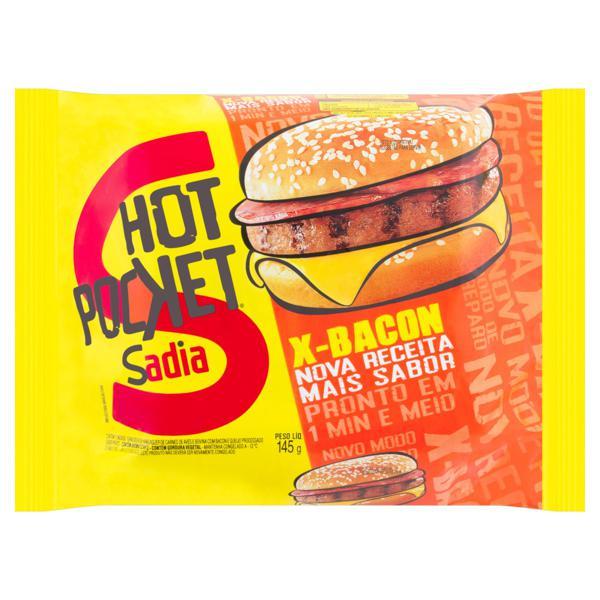 Sanduíche X-Bacon Hot Pocket Sadia 145g