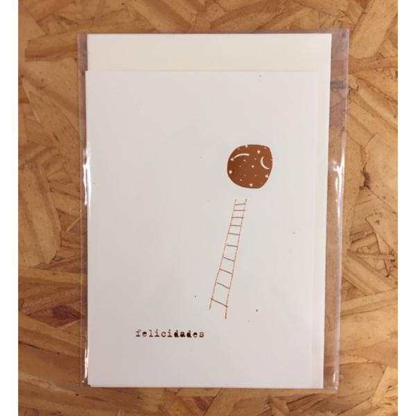 Cartão Felicidades - Anna Cunha