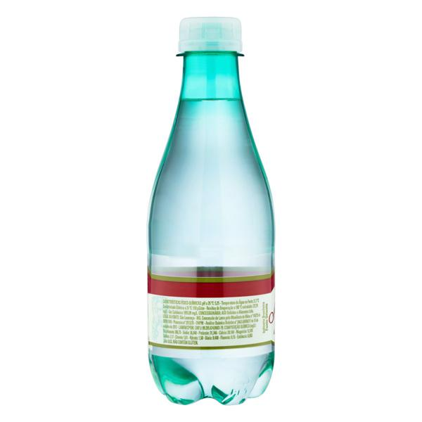 Água Mineral Natural com Gás São Lourenço Garrafa 300ml
