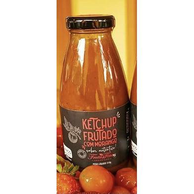 Ketchup frutado de morango ( 310g) Orgânico
