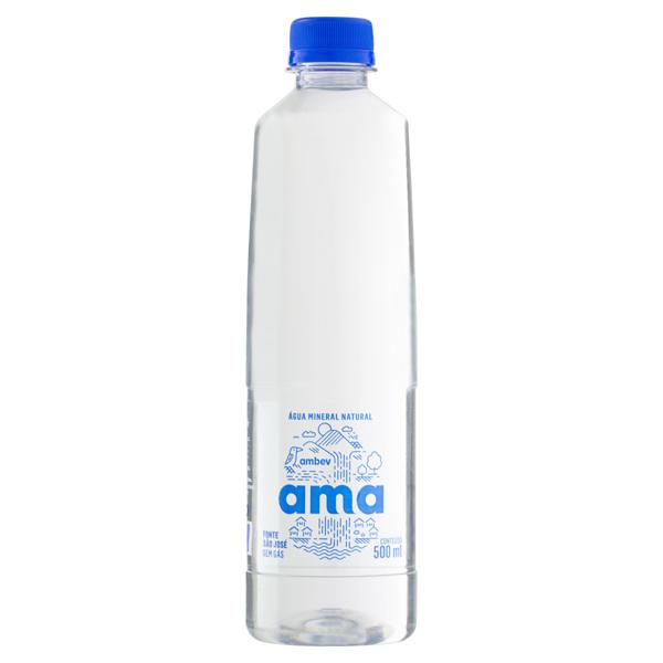 Água Mineral Natural sem Gás Ama Garrafa 500ml