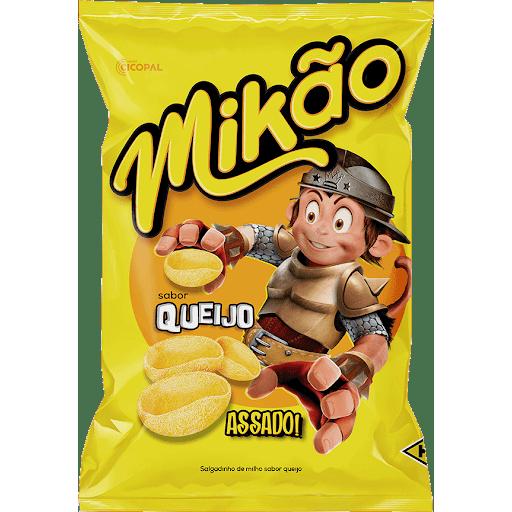 Salgadinho Micos Mikao 140G Queijo