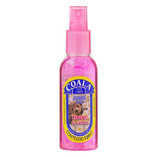 Odorizador de Ambiente Spray Toque de Carinho Coala Frasco 120ml