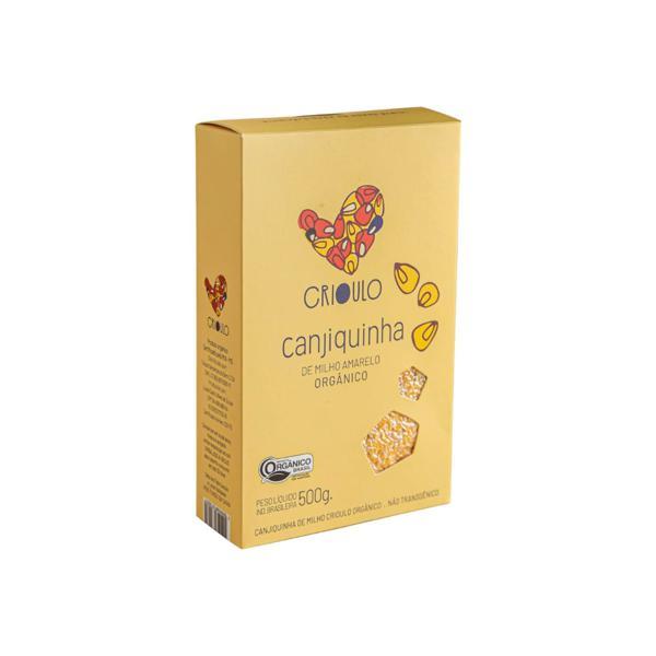 Canjiquinha de Milho Crioulo Amarelo Orgânico 500g - Vista Alegre
