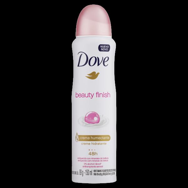 Desodorante Antitranspirante DOVE Aerossol Beauty Finish 150ml