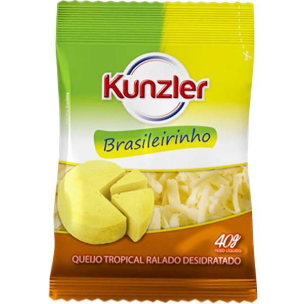 Queijo Ralado Kunzler 40G Brasileirinho
