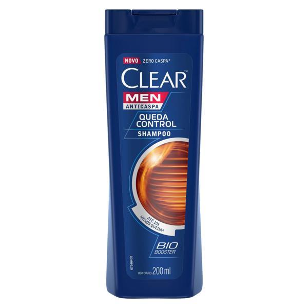 Shampoo 200ml Clear anti-caspa Queda controle