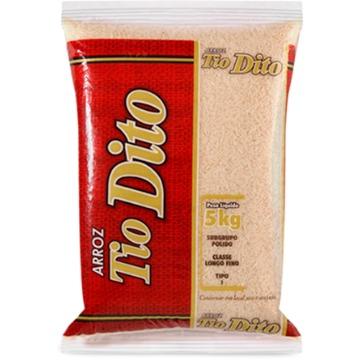 Arroz Tio Dito Polido Tp 1 5Kg Pacote