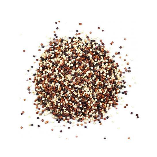 Mix de quinua preta, branca e vermelha - 100g