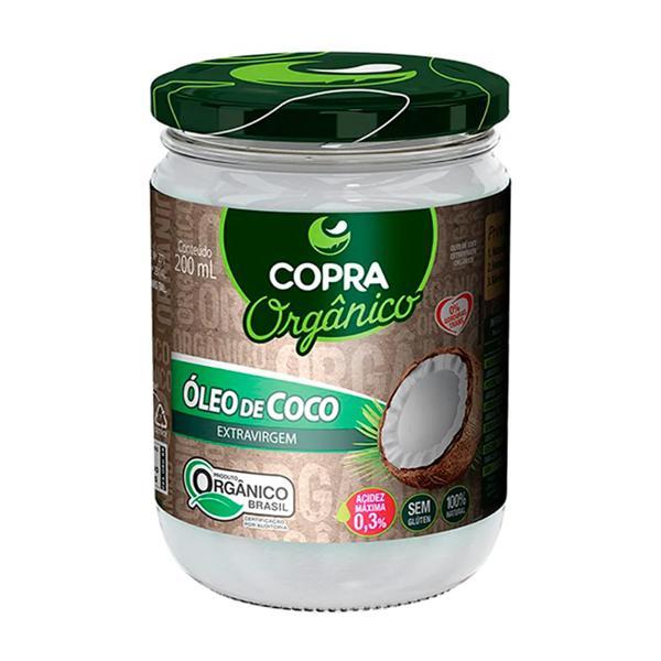 Óleo de coco Orgânico Extra Virgem 200ml - Copra