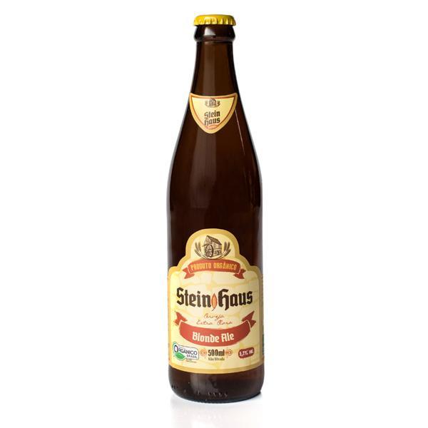 Cerveja Orgânica SteinHaus Blonde Ale (500ml)