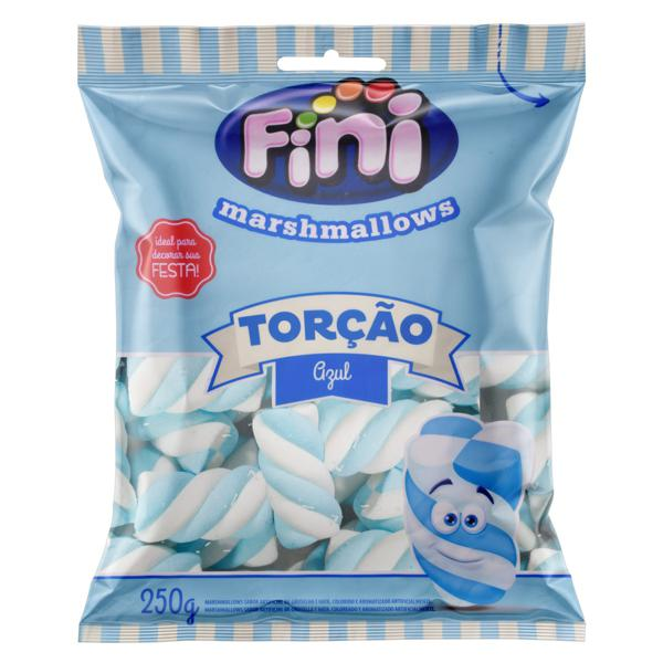 Marshmallow Torção Groselha e Nata Fini Pacote 250g