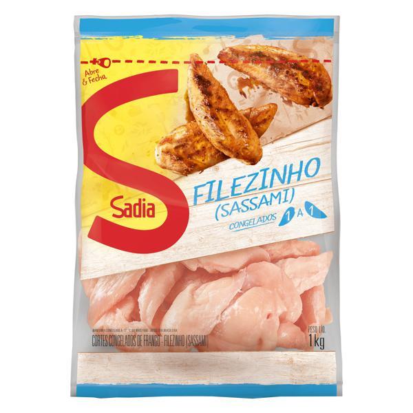 Filezinho Sassami de Frango Congelado Sadia 1kg