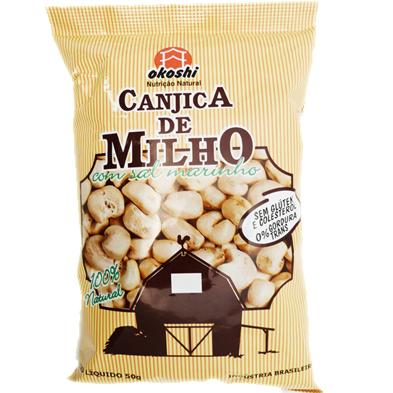 Canjica de Milho com Sal Marinho Okoshi 50g