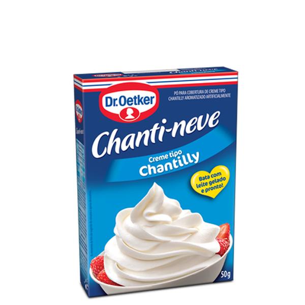 Po Para Preparo De Chantilly Dr.Oetker Chanti-Neve 50G