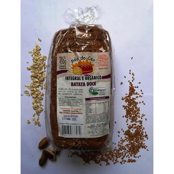 Pão Integral Batata Doce Orgânico  (450g)