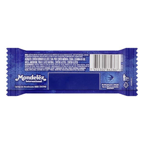 Chocolate ao Leite Lacta Pacote 20g