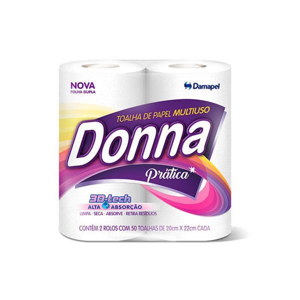 Papel Toalha Donna C/2