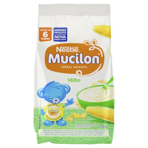 Cereal Infantil Milho Nestlé Mucilon Pacote 230g