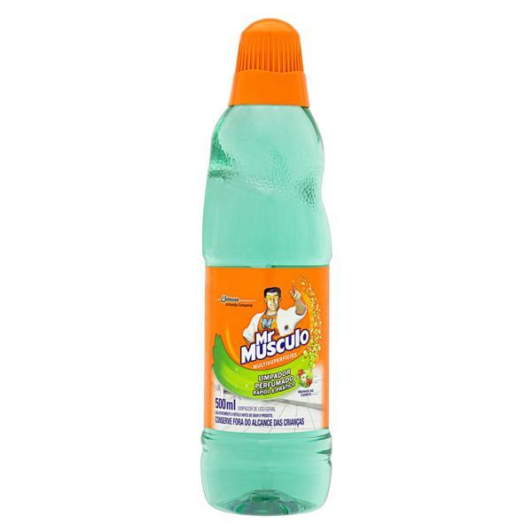 Limpador Perfumado Multissuperfícies Manhã do Campo Mr Músculo Frasco 500ml