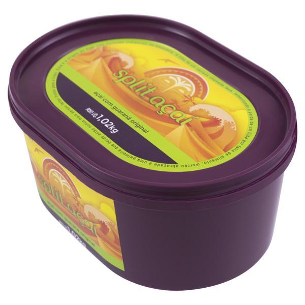 Açaí com Guaraná Split Açaí Pote 1,02kg