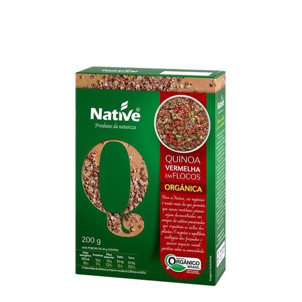 Quinoa Vermelha Em Flocos