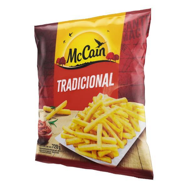 Batata Pré-Frita Tradicional Congelada McCain Pacote 720g