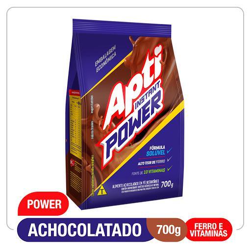 Achocolatado em Pó APTI Instant Power Sachê 700g