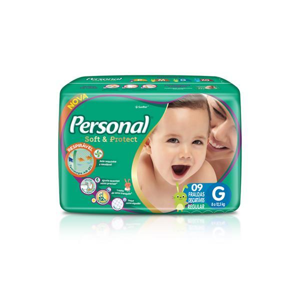 Fralda Descarta Personal Baby G 9 Un