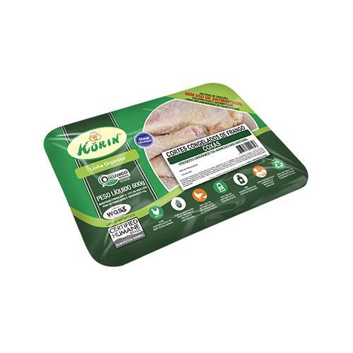 Coxa de frango orgânica 600g - Korin