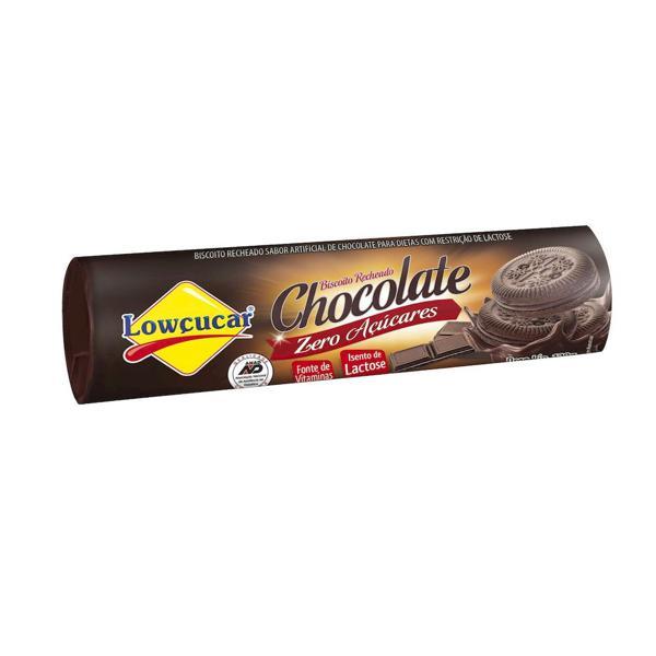 Biscoito Recheado  Zero Açúcar Lowçúcar Chocolate 120G