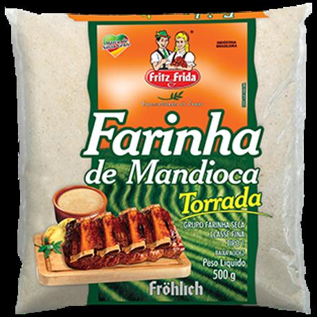 Farinha de Mandioca FRITZ&FRIDA 500g Torrada