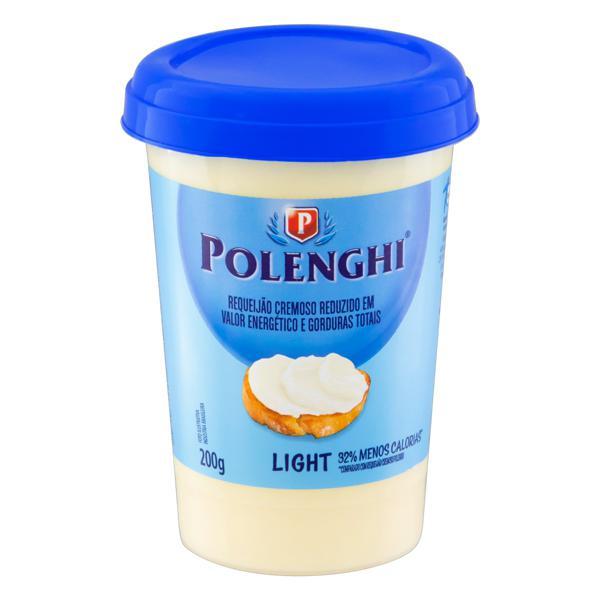 Requeijão Cremoso Light Polenghi Copo 200g