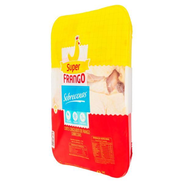 Sobrecoxa de Frango Congelada Super Frango 1kg