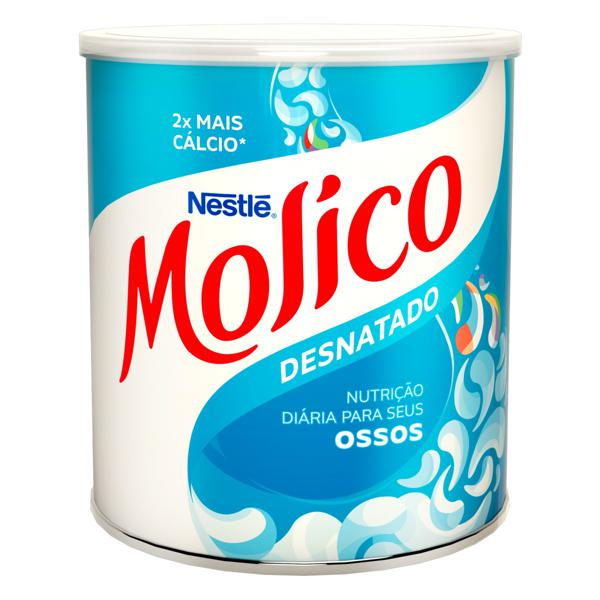 Leite em Pó Desnatado Nestlé Molico Lata 280g