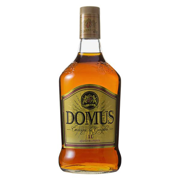 Conhaque de Gengibre Domus Garrafa 1l