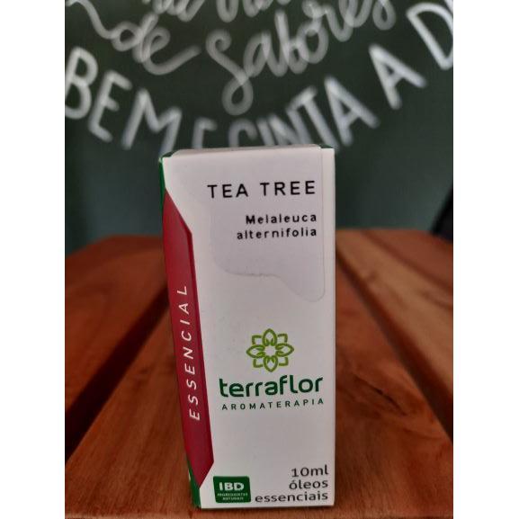Óleo Essencial Tea Tree (Melaleuca) 10ml TERRA-FLOR