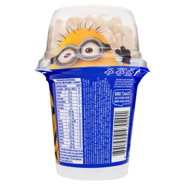 Iogurte Integral Fruta e Cereais Meu Malvado Favorito 3 Vigor Mix Pote 165g