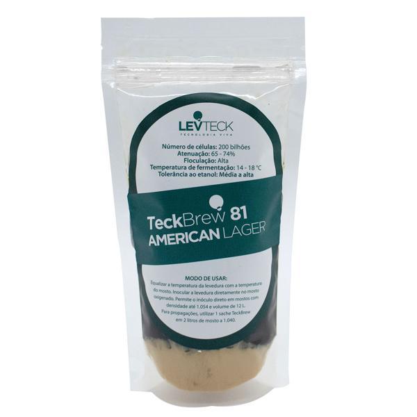 Fermento Teckbrew 81 (AMERICAN LAGER) - Levteck