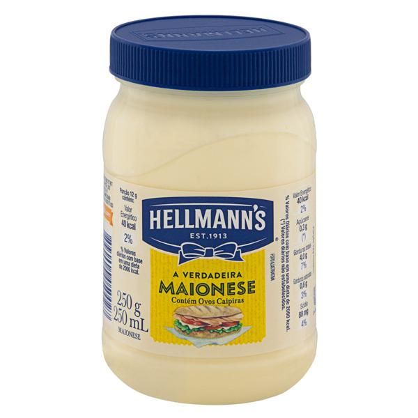 Maionese Hellmann's Pote 250g