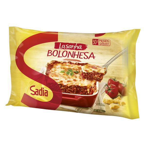 Lasanha Bolonhesa Sadia Pacote 600g