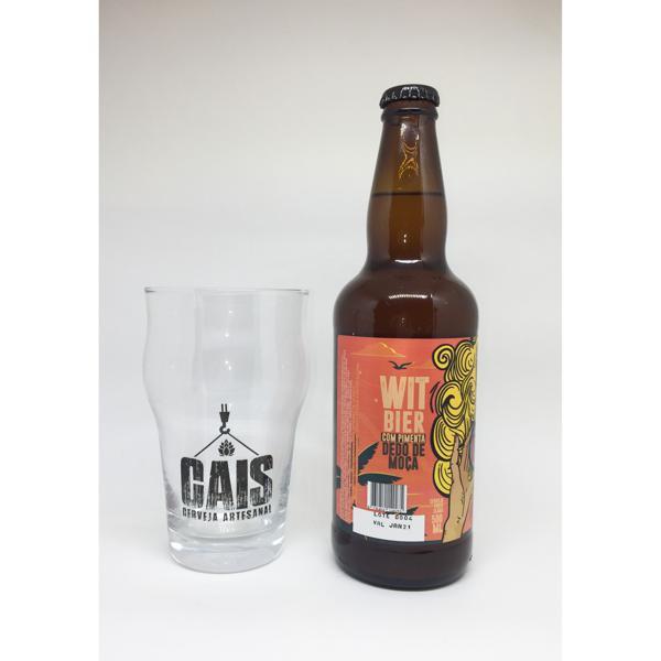 Cerveja CAIS - Wit Bier com Pimenta Dedo de Moça - 500ml