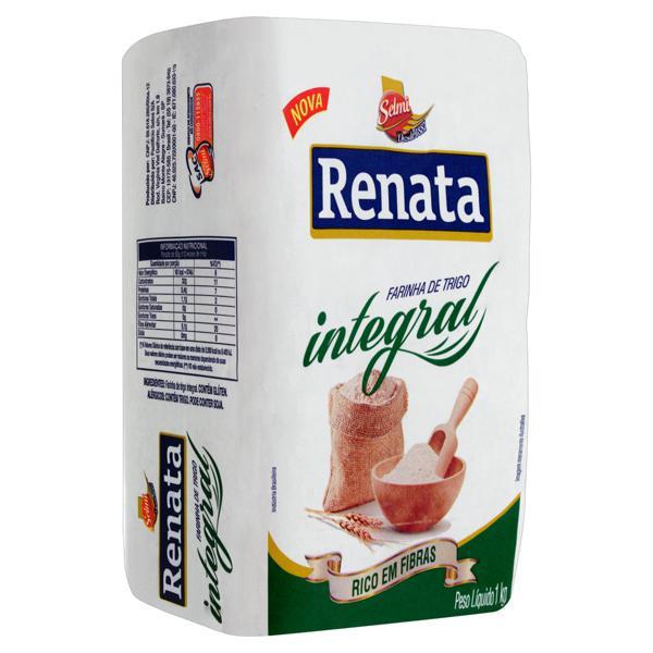 Farinha de Trigo Integral Renata Pacote 1kg