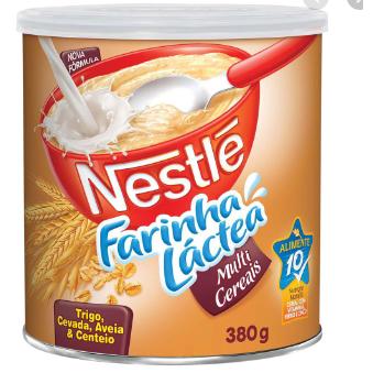 Farinha Láctea Nestle 380G Multigrãos